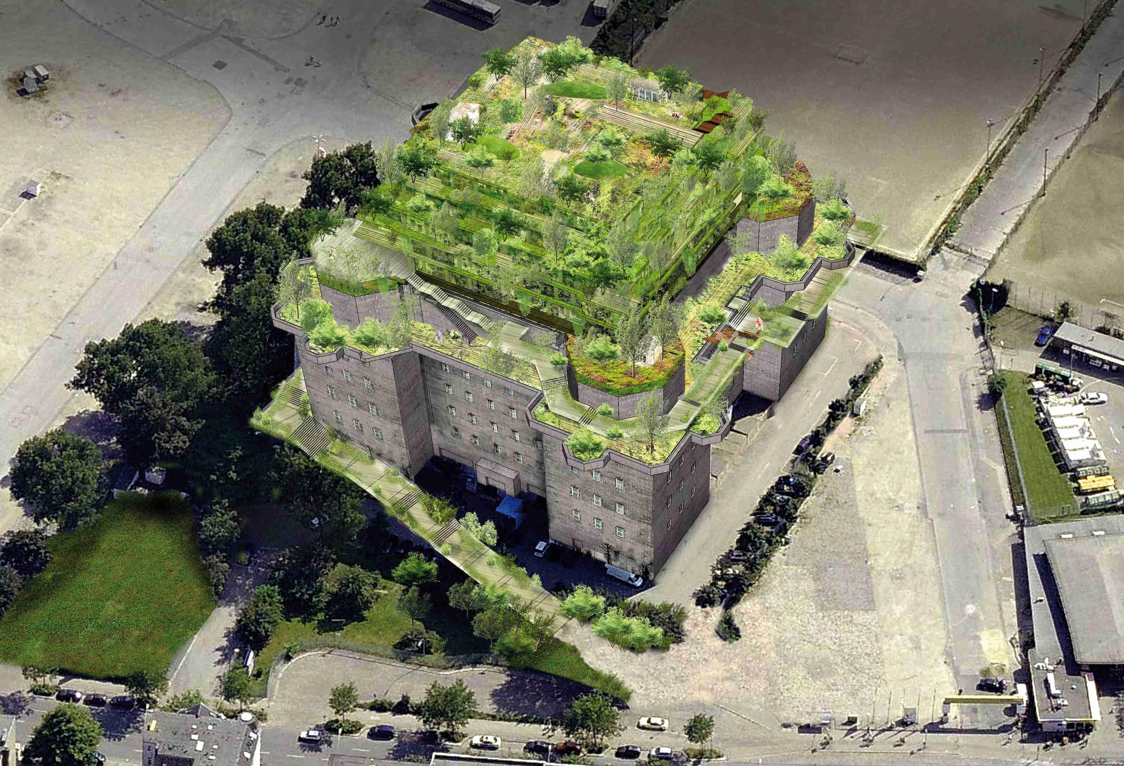 Bunker auf St. Pauli