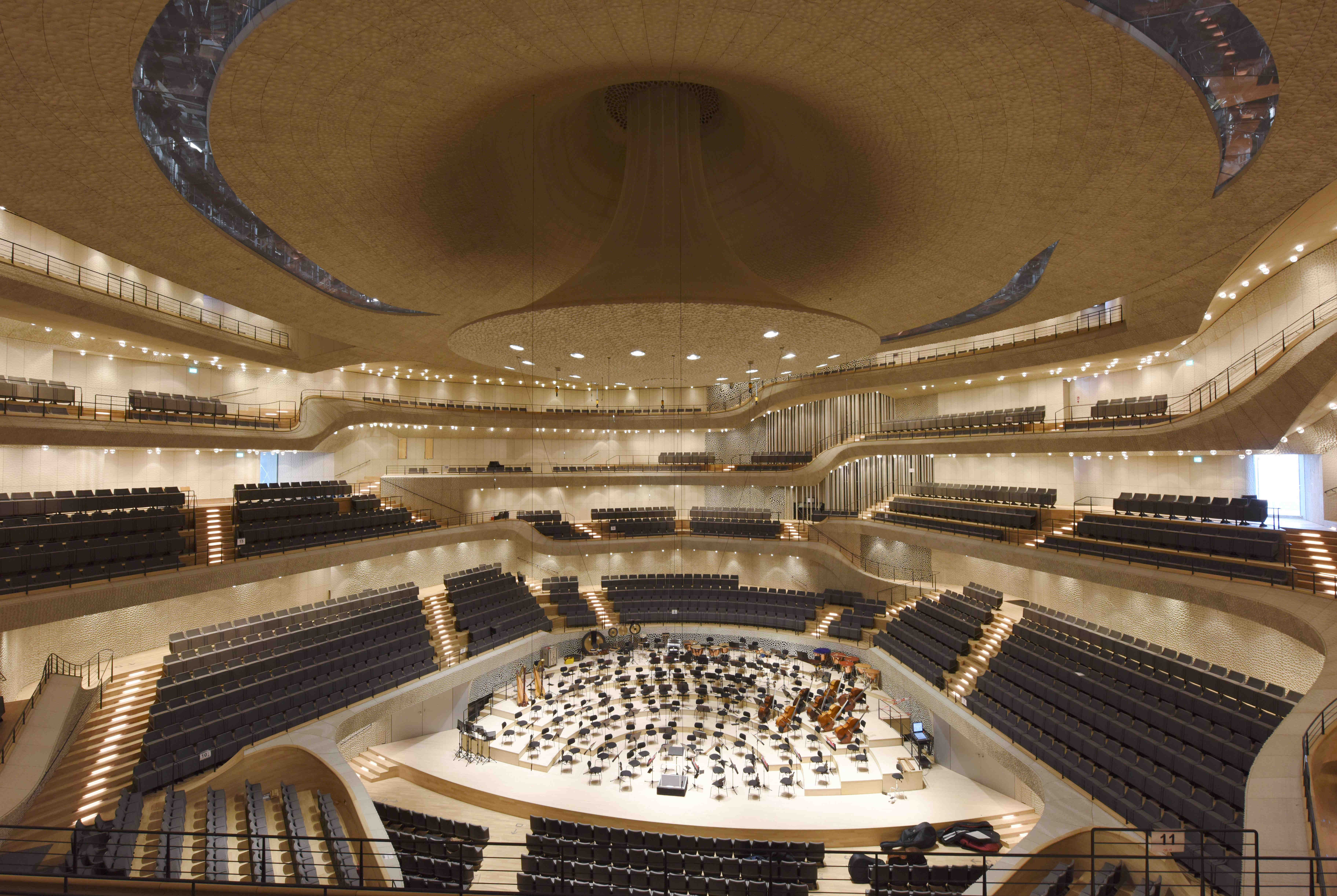 Dämmung Elbphilharmonie