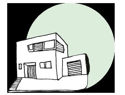 Dämmen Haus