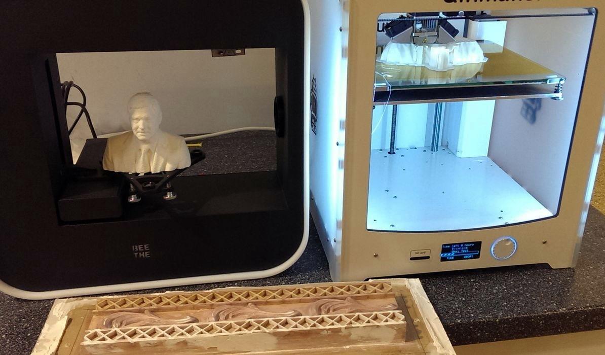 Stuck aus dem 3D-Drucker