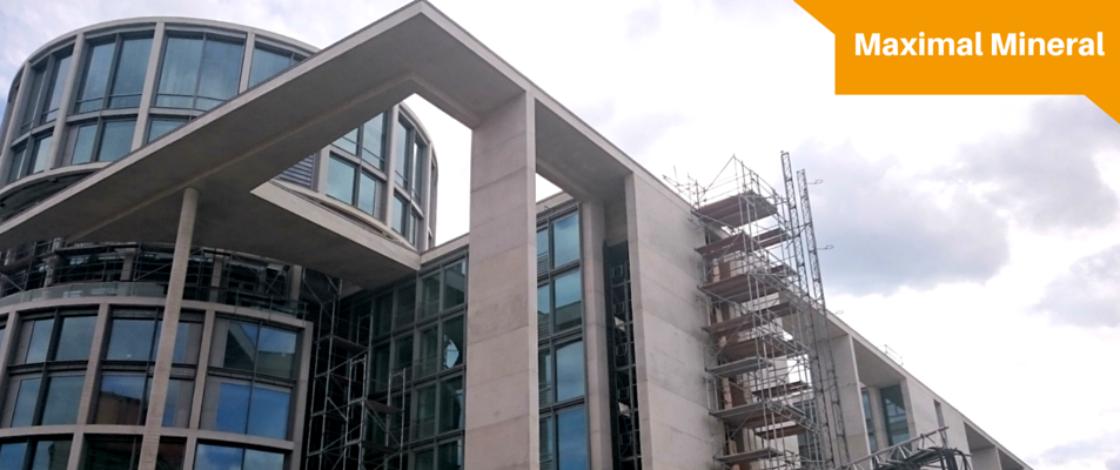 Baustelle Bundestag |Dämmung