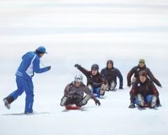 Skihalle dämmen