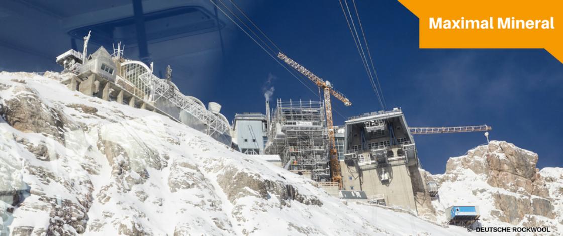 Dämmung Zugspitze