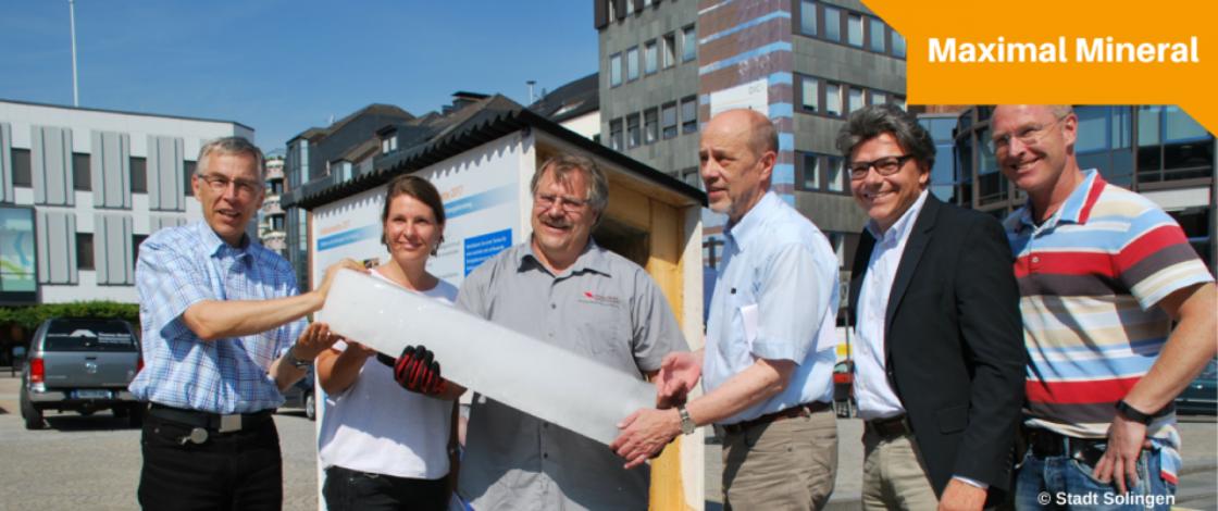 Eisblockwette wirbt für energetische Gebäudesanierung
