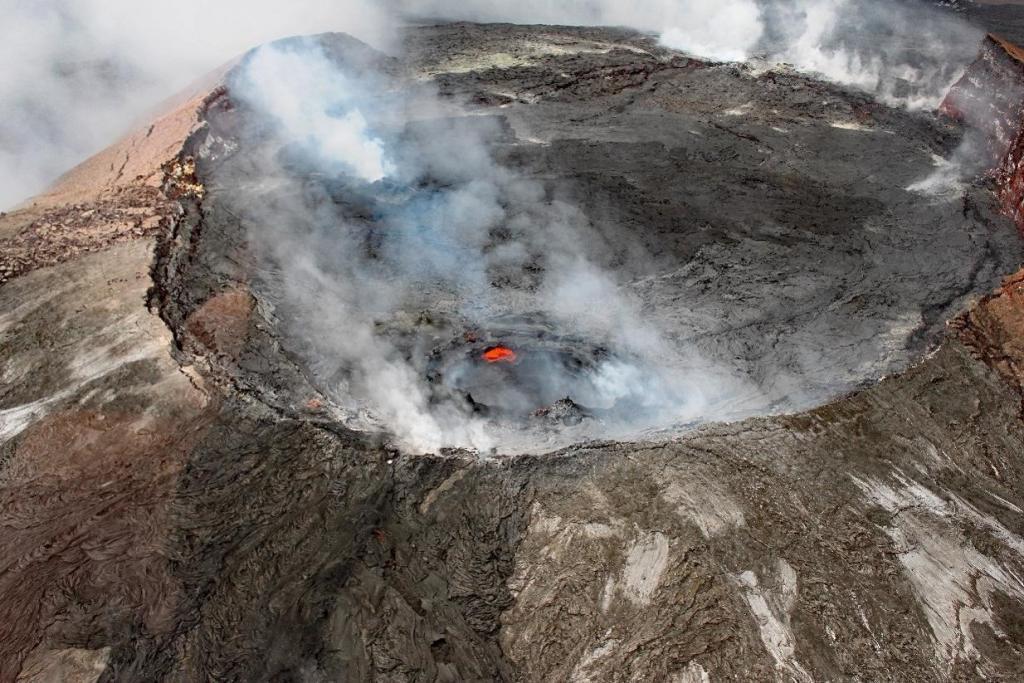 Der Kīlauea auf Hawaii ist einer der aktivsten Vulkane der Welt.
