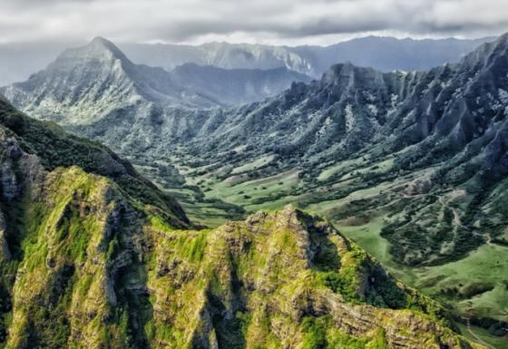 Der Vulkan Kīlauea produziert natürliche Mineralwolle.