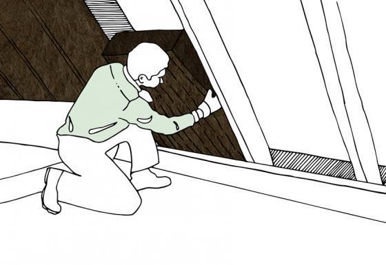 Eine Zwischensparrendämmung kann auch problemlos in Eigenregie eingebaut werden.