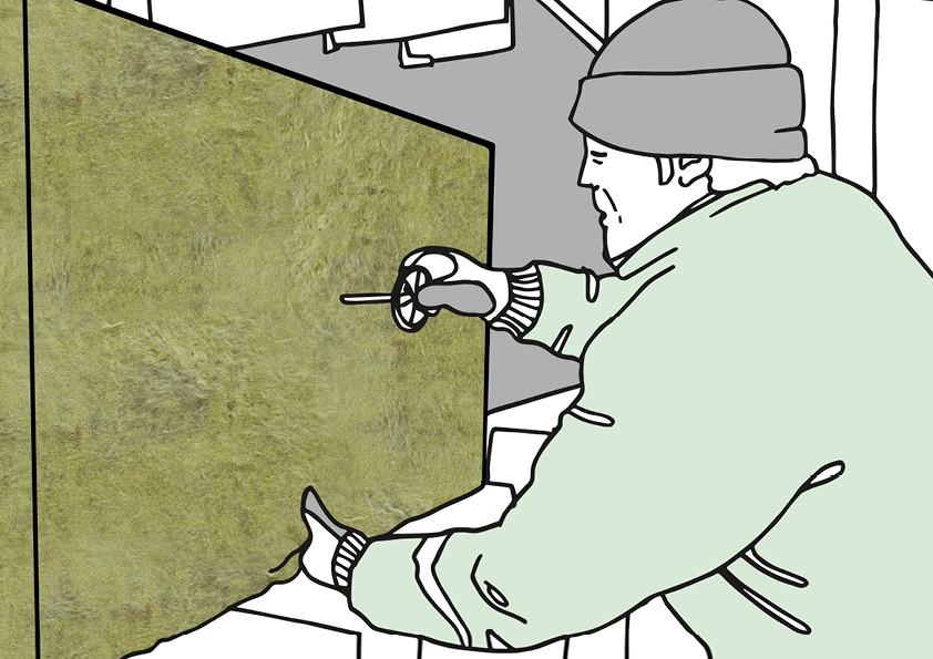 Die normgerechte Ausführung von vorgehängten hinterlüfteten Fassaden ist eine Aufgabe für den Fachmann.