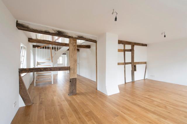 Im neuen Glanz – einer der Innenräume nach der Sanierung des Soester Fachwerkhauses.