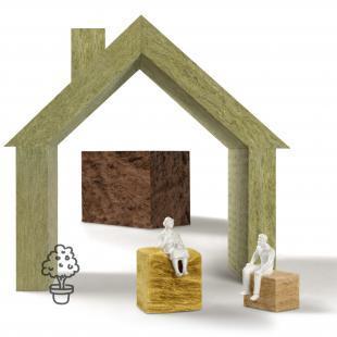 Mineralwolle ist nichtbrennbar und leistet besten passiven Brandschutz.