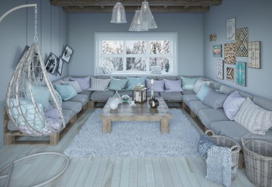 Ein gut gedämmtes Haus, etwa mit Mineralwolle, sorgt nicht nur für ein optimales Wohnklima.