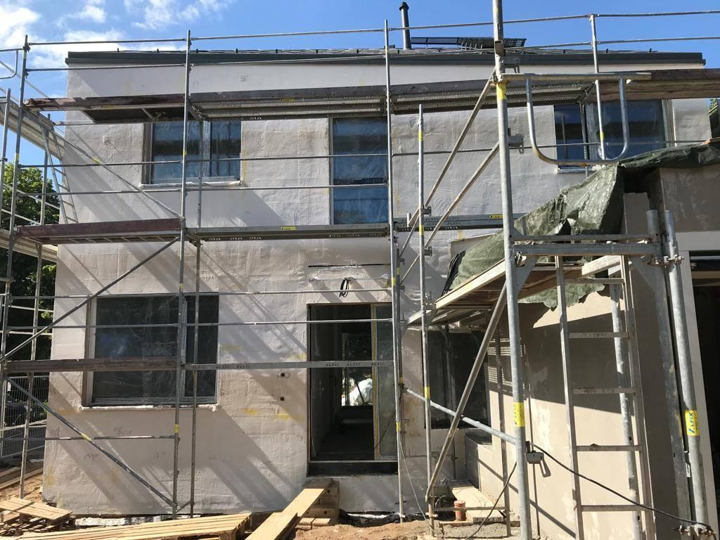Ein mit Mineralwolle gedämmtes Einfamilienhaus in Bad Homburg. Foto: René Laun