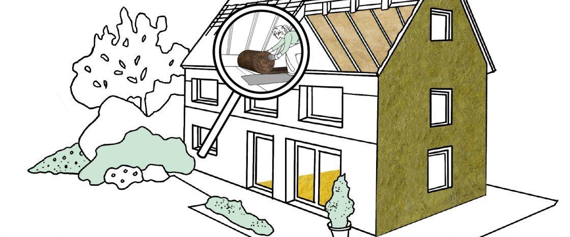 Energetische Gebäudesanierung: Einzelne Dämmmaßnahmen werden steuerliche geförderte