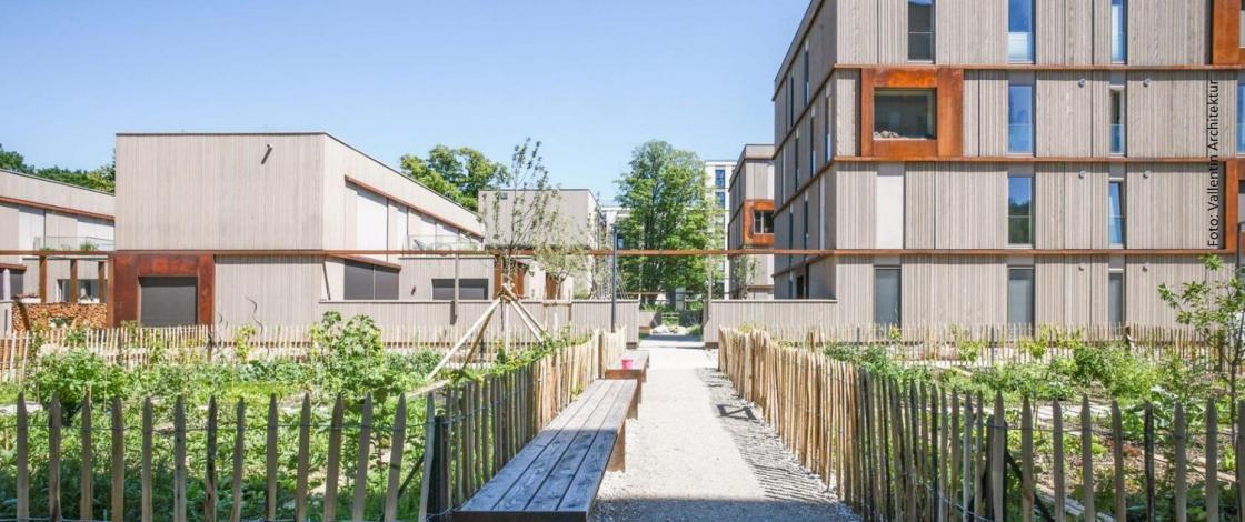 Ökosiedlung in München_Vallentin Architektur