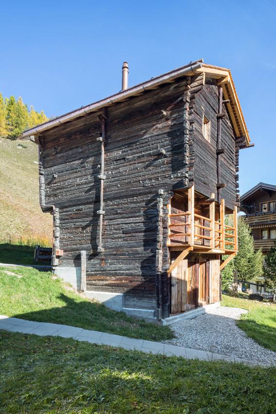 Im alten Heustadel steckt jetzt ein neues Ferienhaus.