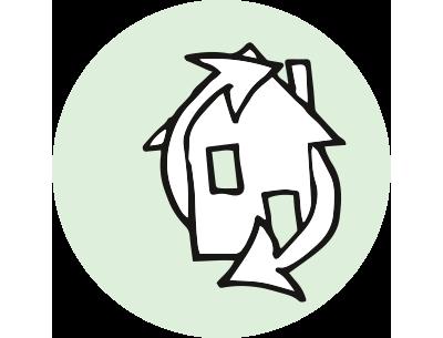 hachhaltiges Bauen | Der Dämmstoff