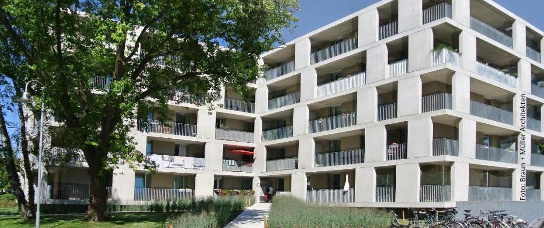Personalwohnhaus Konstanz Foto Braun + Mueller Architekten Nachher