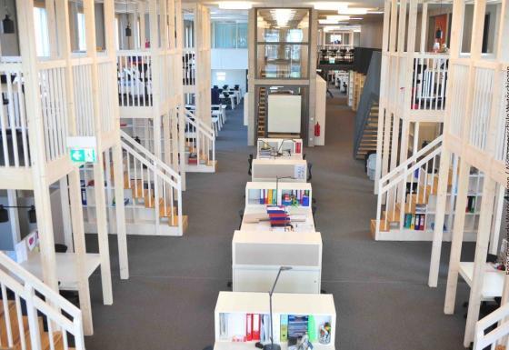 Lernatelier Arbeitsplaetze weisses Haus Gemeinde Wutöschingen_ Alemannenschule Wutöschingen | Der Daemmstoff