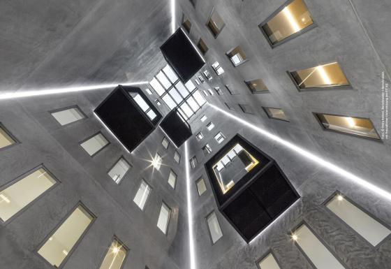 Atrium I FIT AG I Header I Der Dämmstoff