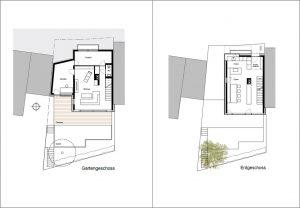 Gartengeschoss I Erdgeschoss I Haus W8 I Der Dämmstoff