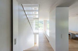Treppe 1 I Haus W8 I Der Dämmstoff