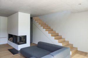Treppe 2 I Haus W8 I Der Dämmstoff