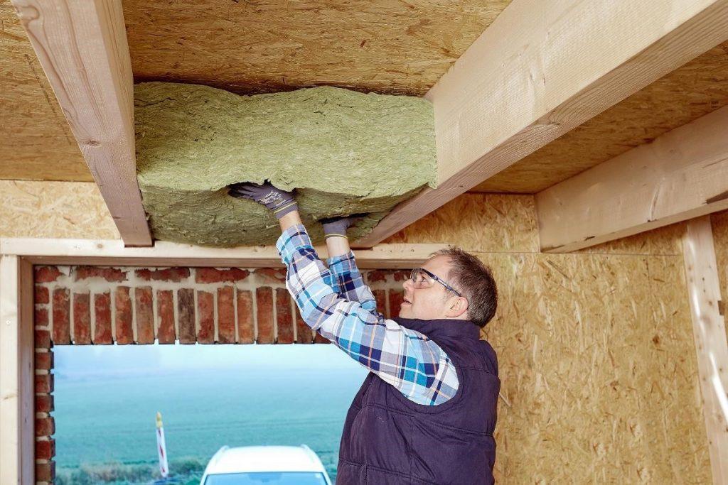 Dämmung I Holzbau I Bild 4 I Der Dämmstoff